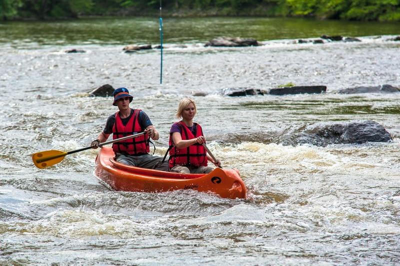 půjčovna kanoe Jizera