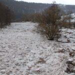 Konec ledového zátarasu v Rakousích