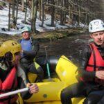 Raftování na Jizeře