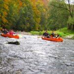 Kanoe na Jizeře