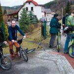 Koloběžky Koza na otevření Greenway Jizera