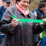 Hana Maierová přestřihla pásku od Greenway Jizera